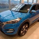 Вид спереди Hyundai Tucson 2016 Prime