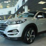 Вид сбоку Hyundai Tucson 2016 Prime High-tech