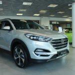 Вид сбоку 2 Hyundai Tucson 2016 Prime High-tech