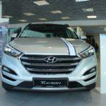 Вид спереди Hyundai Tucson 2016 Prime High-tech