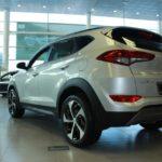 Вид сзади Hyundai Tucson 2016 Prime High-tech
