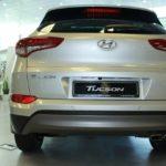 Вид сзади 2 Hyundai Tucson 2016 Prime High-tech