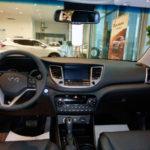 Салон спереди Hyundai Tucson 2016 Prime