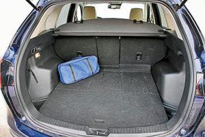Багажник в Toyota Rav4 2016