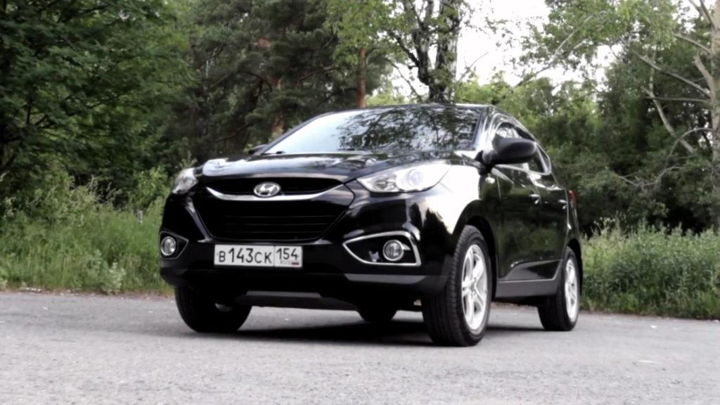 Hyundai ix35 - второе поколение Туссана