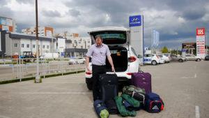 Два больших чемодана